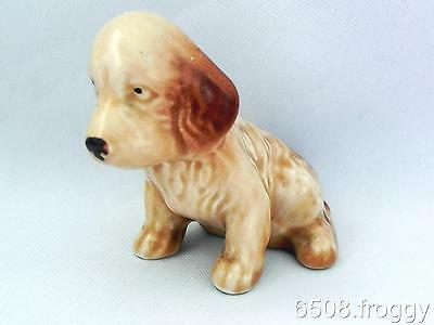 EARLY Vintage SYLVAC- Spaniel Puppy Dog  **SITTING DOWN** Model 115  - Excellent