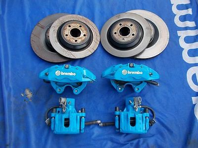 FORD FOCUS RS MK3 FRONT REAR BRAKES BREMBO BRAKE PADS DISC  2.3 EcoBoost