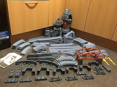 100+ Pieces Of Thomas The Tank Engine Quarry Track ~ Blue ~ Trackmaster Bundle