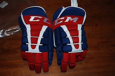 New Pro Stock Ccm Hg96Xp Hockey Gloves Montreal Canadiens