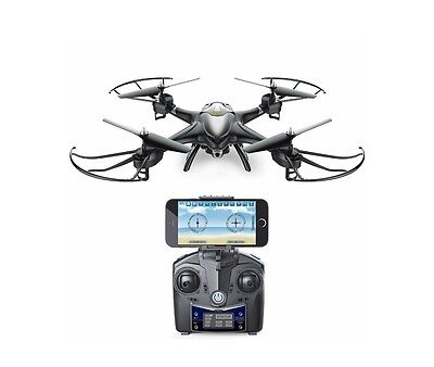 Holy Stone HS200W FPV RC Drone with HD Wifi Camera Live Feed 2.4GHz 4CH 6-Axis G
