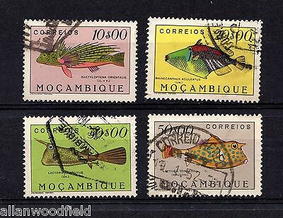 Mozambique  #351, 353-355  Used  (1512051)