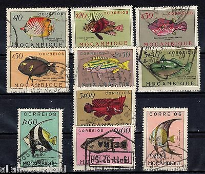 Mozambique  1951 Fishes  Used  (1512061)