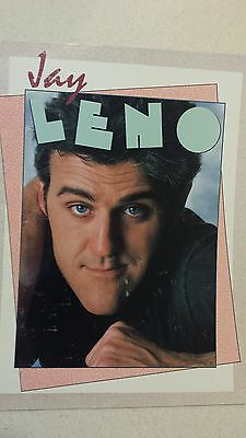 Vintage Jay Leno Concert Program - 1987  ( 13 Pages )