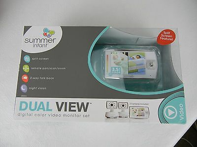 Summer Infant Dual View Digital Color Video Monitor Set NEW!!