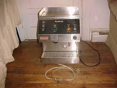 Commercial Nespresso System C3000 Stainless Steal Coffee Espresso Machine