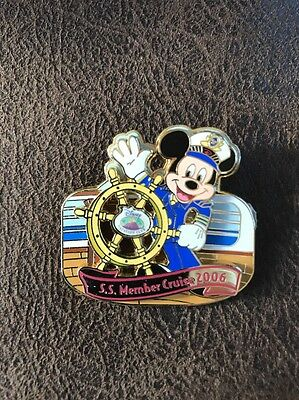 Disney Pin 50451 DCL Cruise Line Captain Mickey DVC Vacation Club Le 1500