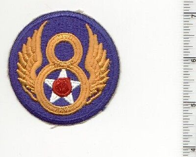 WW2 8th Air Force AAF Military US Army WWII  USAF fabric PATCH