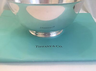 "Sterling Silver Tiffany And Co Revere Bowl 10 1/4""  #23619"
