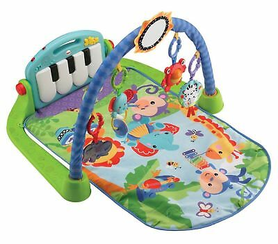Fisher-Price Kick and Play Piano Gym Multicolor