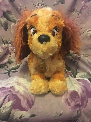 Disney Parks Lady and the Tramp Lady Plush