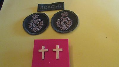 Royal Canadian Chaplains Corps Combat Hat Badges,Collar Insignia &Shoulder Title