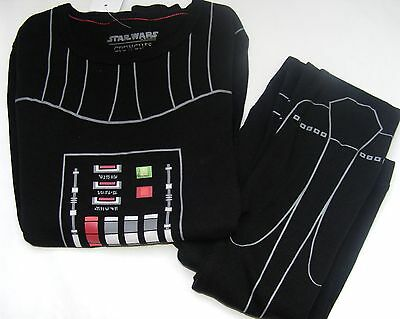 New! JCrew CrewCuts Star Wars PJs Glow-in-the-Dark Darth Vader Sleep Set 14