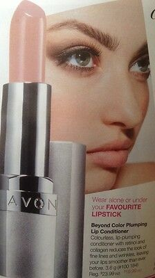 *~Avon~*beyond Color Plumping Lip Conditioner**new Look Rrp $22.99**