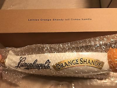 NEW-Leinenkugel Leinies Orange Shandy Canoe Beer Tap Handle-NIB