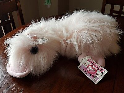 """GANZ Googles 1988 16"""" Pink with bows ( all tags still attached )"""