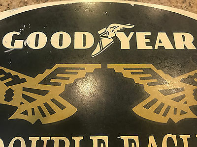 Hard to find Good Year (Double Eagle) Sign