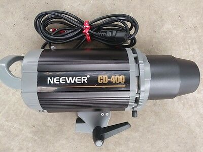Neewer CD400 Hight-speed Digital 400w 110V Mono-Light Studio Strobe Flash  NEW