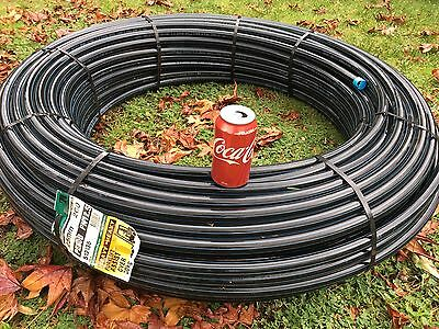 POLY PIPE - Blueline Metric Irrigation Pipe 25mm x 200mt - Pick Up Only