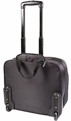 "König Notebook Business Trolley 15-16"" Polyester Schwarz/Anthrazit"