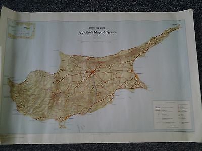 A Visitors Map Of Cyprus