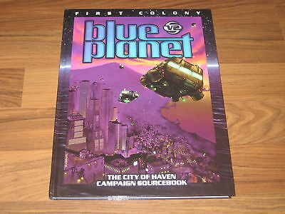 Blue Planet 2nd Edition First Colony The City of Haven 2001 Fantasy Flight FFG