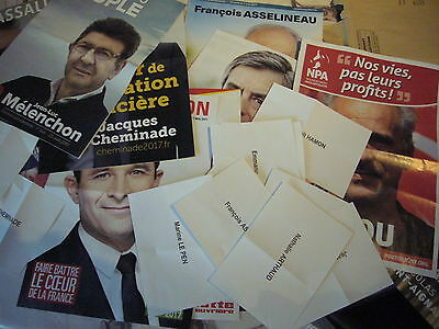 French Presidential election 2017/ 1st round ! Complete Ballots & advertisings !