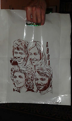 ABBA Plastic Bag from 70's years