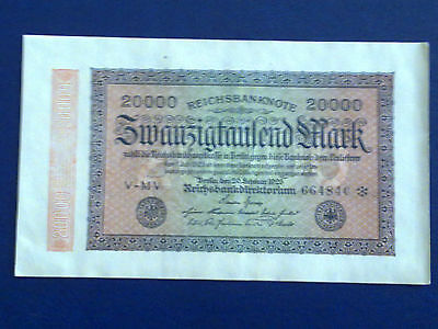 Germany - 20 000 Mark  Banknote 1923- Berlin-Inflation - Very Fine