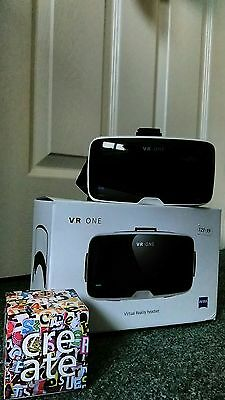 VR ONE Virtual Reality Headset ; Pre owned in excellent condition