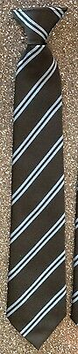 "50 x New 16"" CLIP ON TIES. Top Quality Unicol Clipon Tie / school / dance / club"