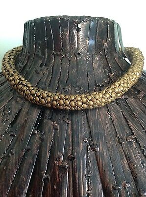 Vintage Brass Tribal Style Necklace