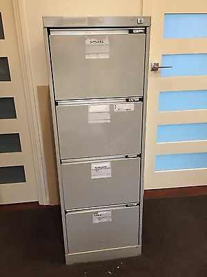 Filing Cabinet - 4 drawer with key