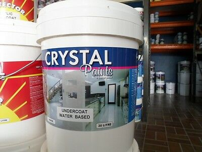 House Paint Undercoat Water Based 2 X 20 Litre  White - Delivery