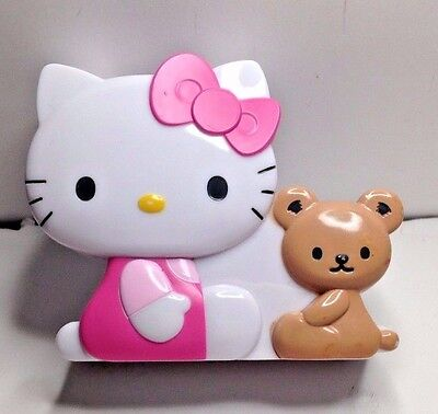 Adorable Sanrio Pink Dress Bow Hello Kitty Tape Dispenser W / New Tape Roll