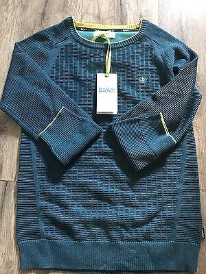 Boys Ted Baker Icon Ottoman Jumper Age 8-9