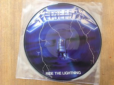 Metallica-Ride The Lighting- Vinyl -Picture Disc - Lp- New.