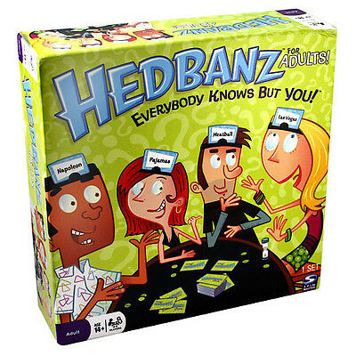 Hedbanz For Adults Game Brand New Sealed