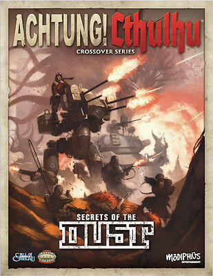Achtung! Cthulhu Crossover Series Secrets of the Dust SC Modiphius Entertainment