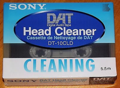 Sony DT-10CLD DAT HEAD CLEANER CASSETTE - NEW & FACTORY SEALED