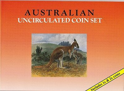 KMS Australian Uncirculated Coin Set, 1979-2002, includes 1c & 2c Coin, Sherwood