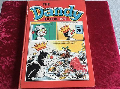 The  Dandy Book  1970 Excellent Condition. Very Rare. Annual.