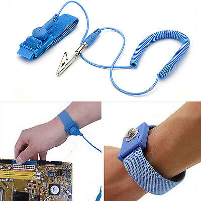 GD Anti Static ESD Wrist Strap Discharge Band Grounding Prevent Static Shock