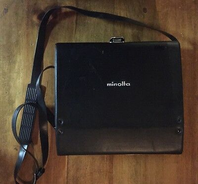 MINOLTA XL 400 Super 8 Movie Camera with Carry Case and User Manuel