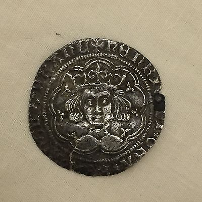 Henry vi silver hammered groat 6th metal detecting find