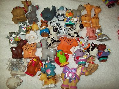 Fisher Price Little People Animals  Bulk Lot Of 30