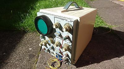 Vintage Analogue Valve Dual Trace Oscilloscope Solartron CD1014.2