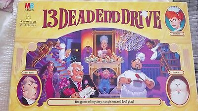 13 Dead End Drive Board Game - MB Games 100% Complete
