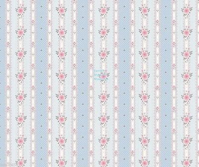 Dolls House Wallpaper (3 X SHEETS)  1/12th Scale