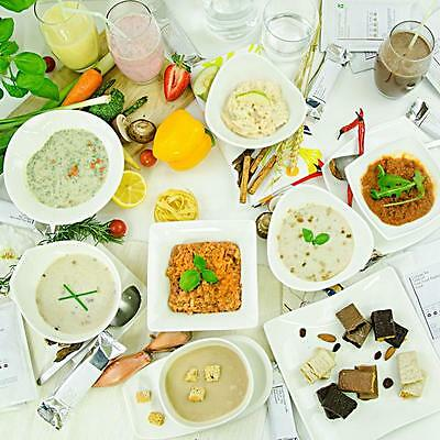 14 tasty vegetarian SOUPS ,CHICKEN , MUSHROOM ,ONION vlcd or LC diet-your choice